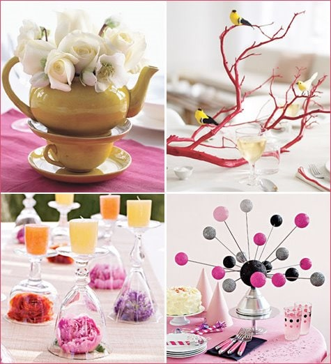 After The Menu Has Been Established You Can Play Off Spring Colors Found In Each Dish For Your Dinner Party Decor
