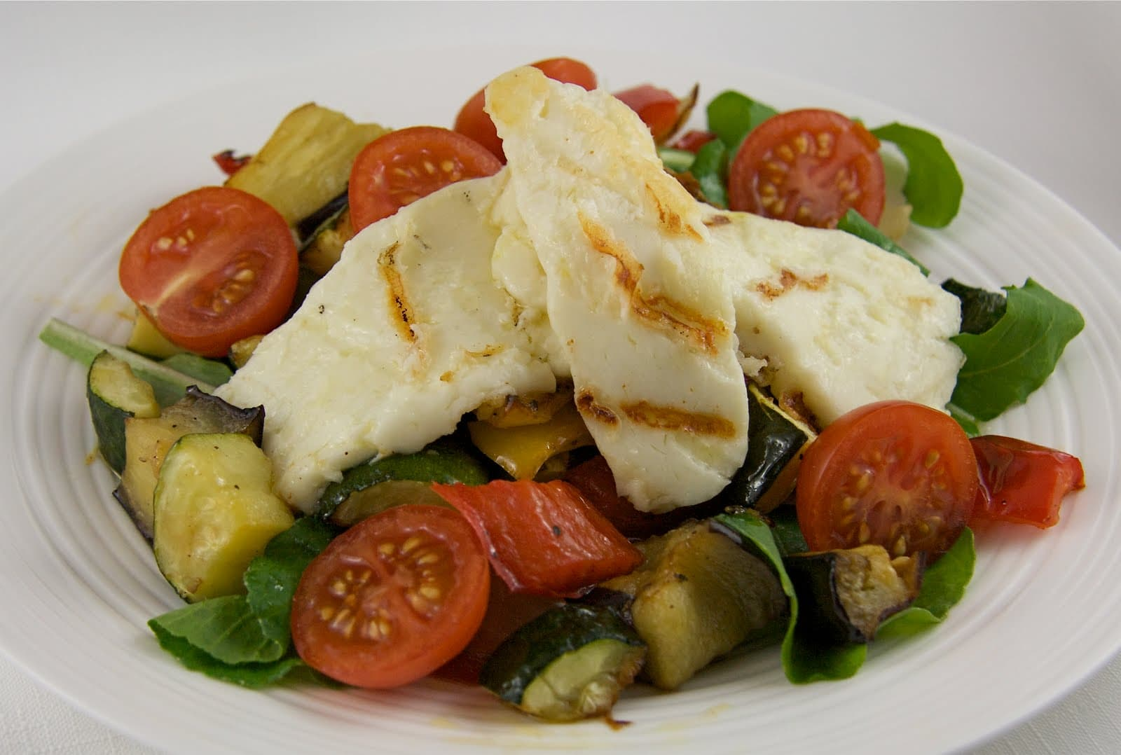 Halloumi, the squeaky cheese,