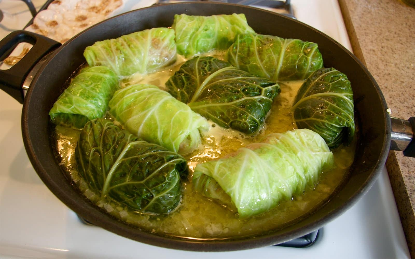 Pork Stuffed Cabbage Rolls Recipe — Dishmaps