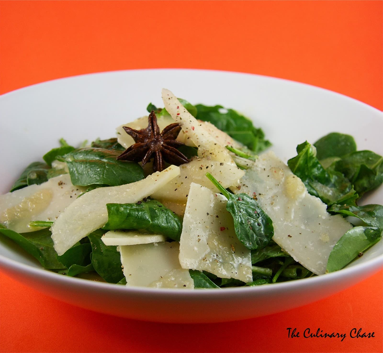 ... salad recipe spinach pear shaved pear and parmesan salad spinach pear