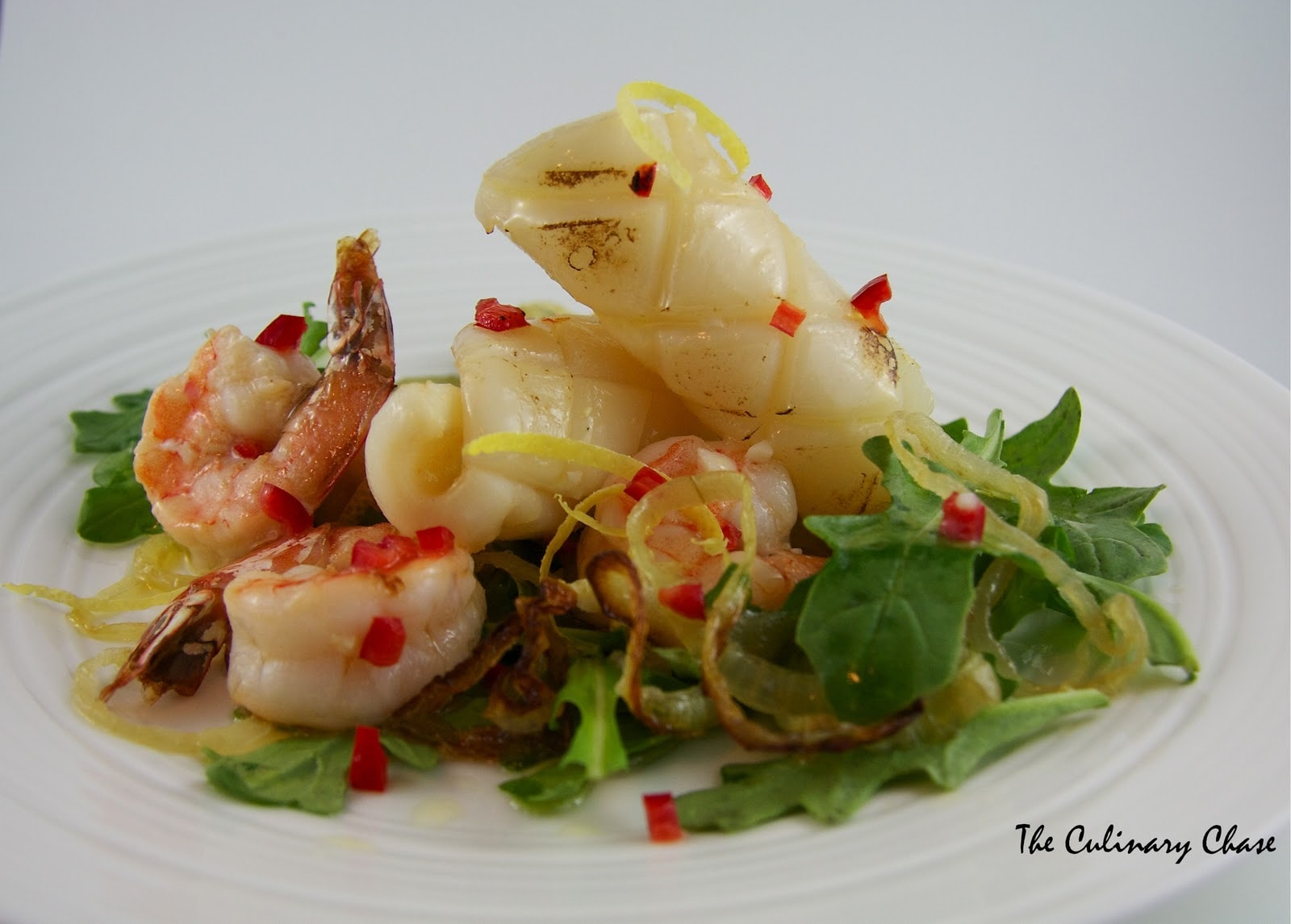 recipe: char grilled calamari salad [11]