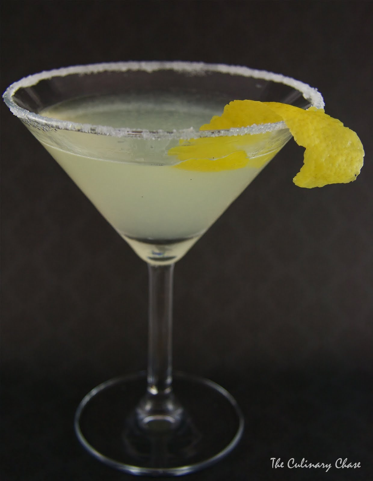 Lemon Drop Martini infused with Lavender Syrup - The Culinary Chase