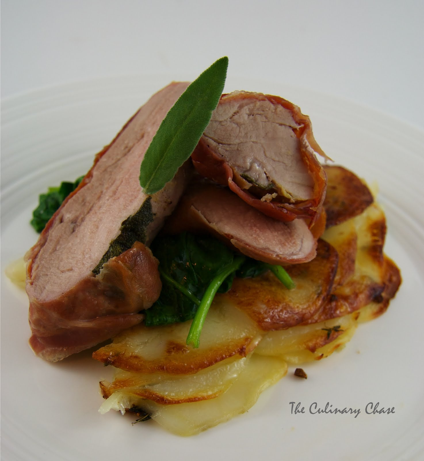 Pork saltimbocca italian world flavor recipes