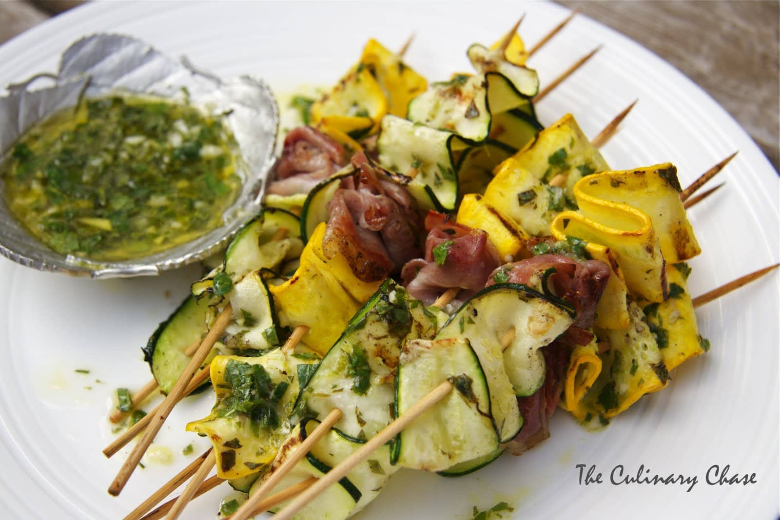Zucchini Ribbons with Mint photo