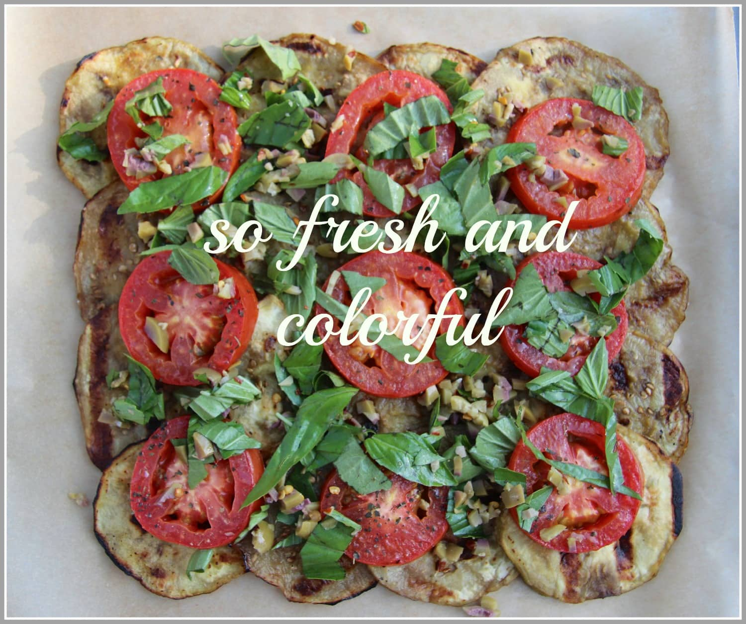 Grilled Eggplant and Tomato Pizza – hello wordpress!