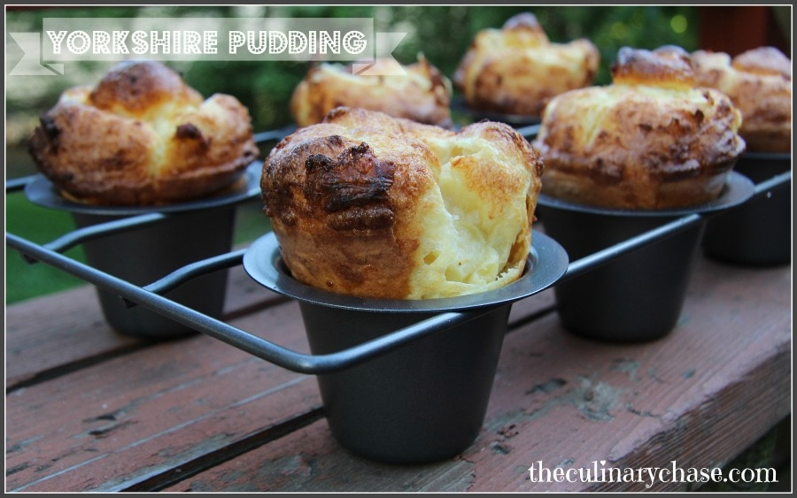 Yorkshire Pudding - The Culinary Chase