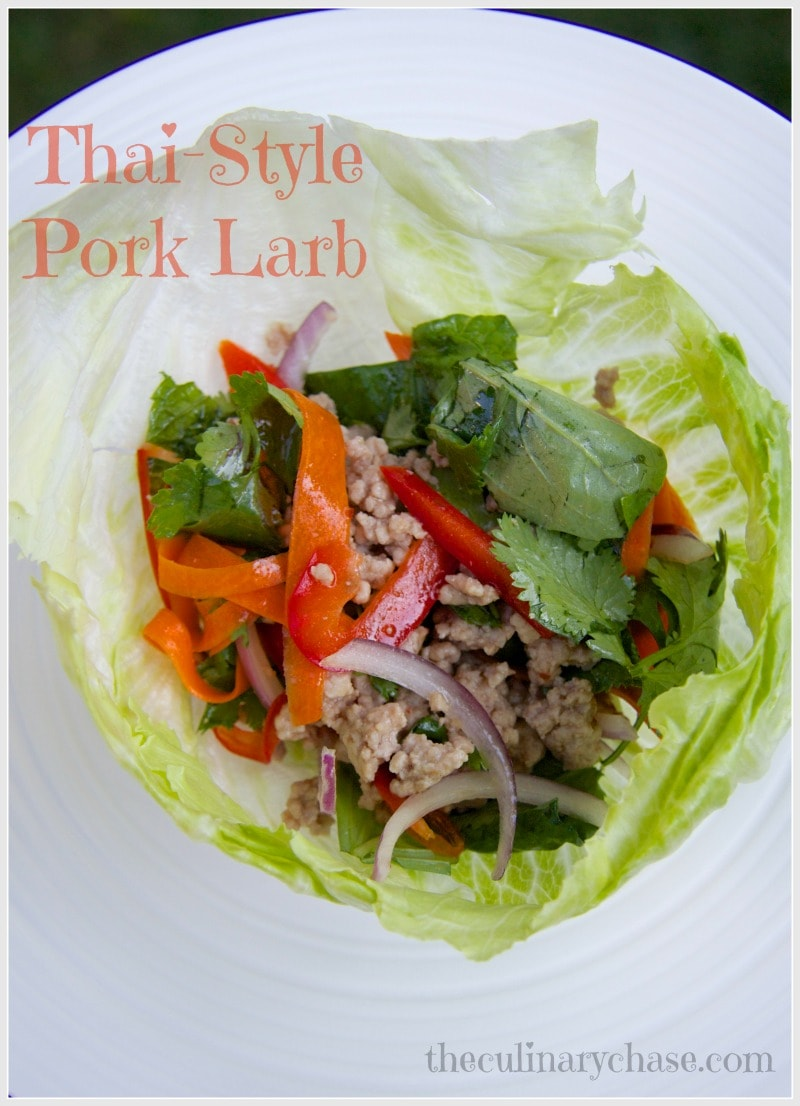 Thai Larb - The Culinary Chase