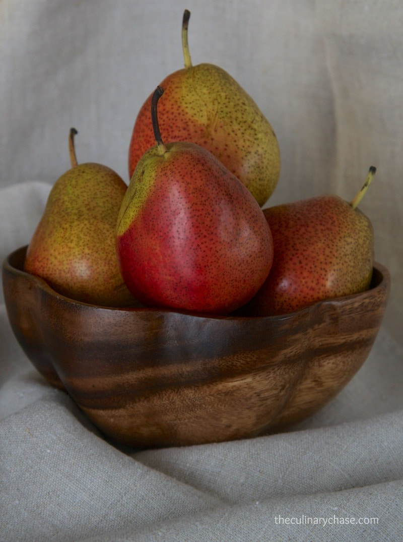 ... forelle pears caramel dipped forelle pears forelle pears in parchment
