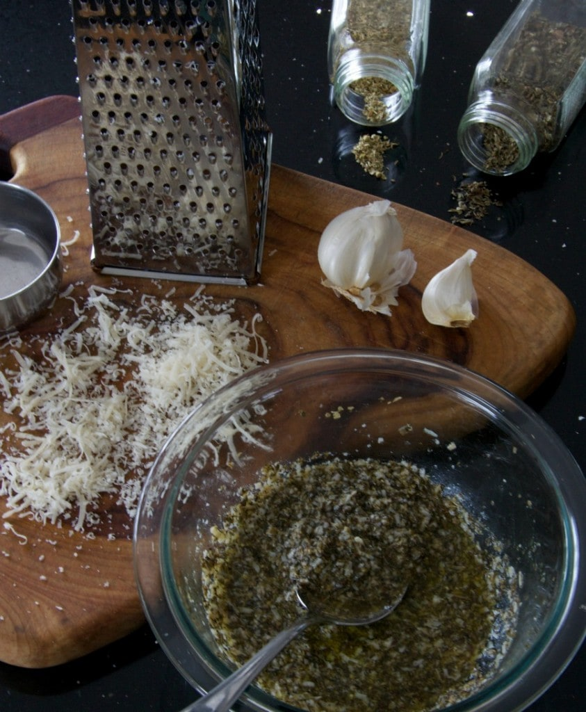 Parmesan Grilling Sauce by The Culinary Chase