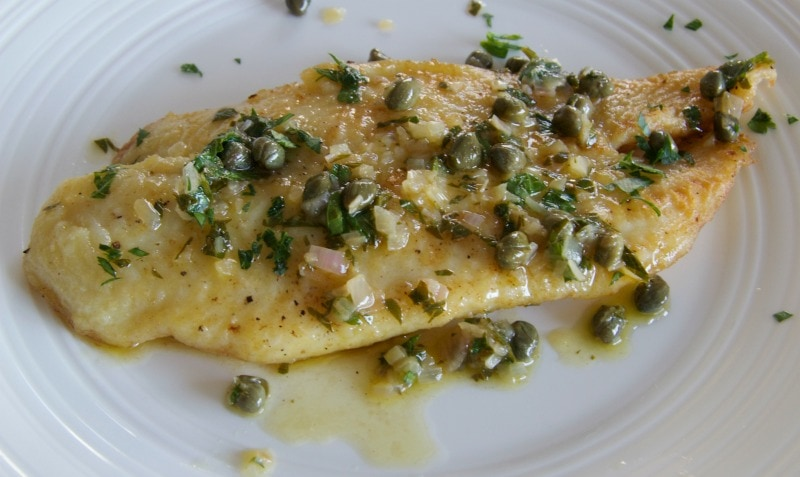 easy to make fish piccata by The Culinary Chase