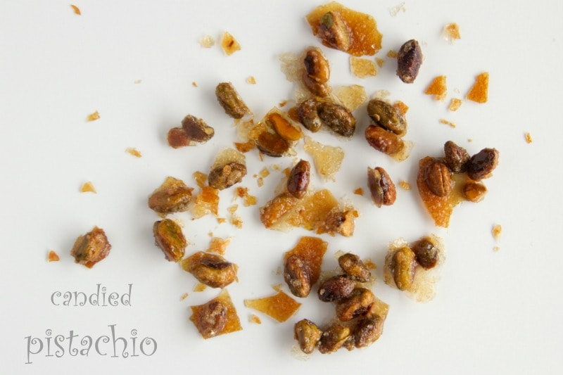 candied pistachio by The Culinary Chase