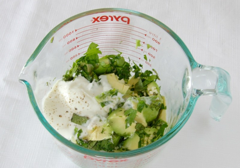 how to make homemade avocado dressing