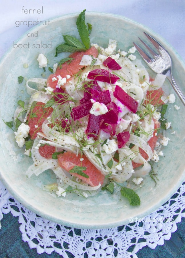 Grapefruit And Grilled Fennel Salad Recipes — Dishmaps