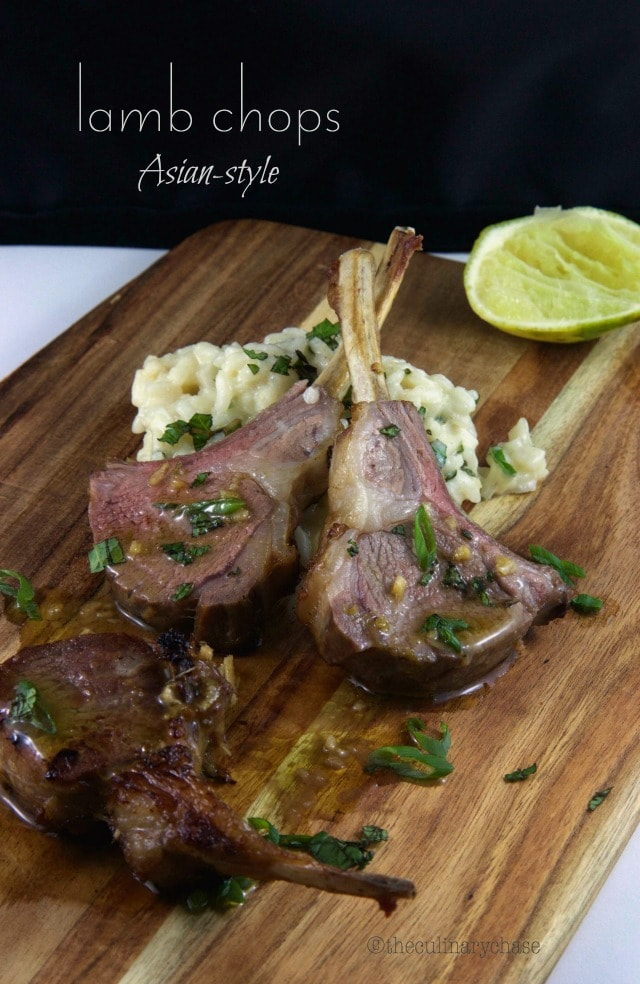 Rack of Lamb Asian-Style