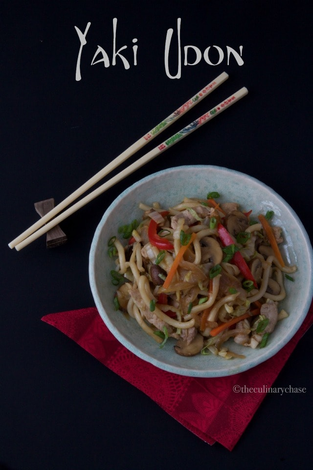 Yaki Udon - The Culinary Chase