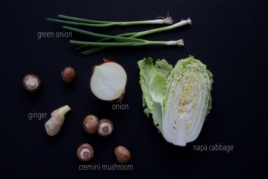 yaki udon ingredient list