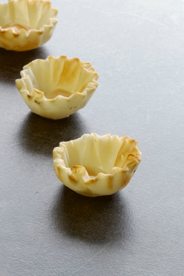 mini phyllo cups