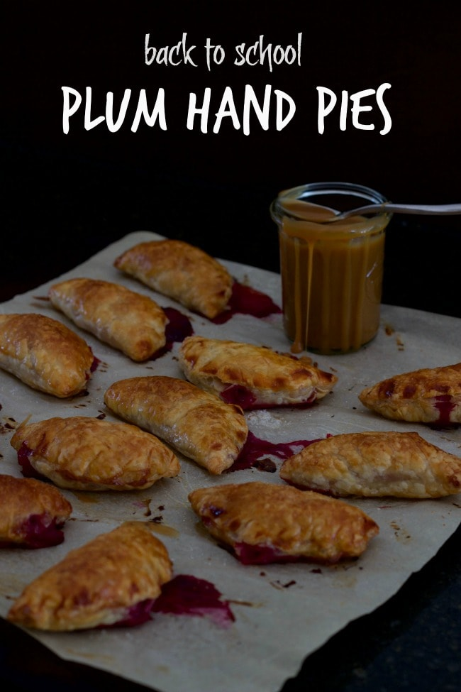 plum hand pies - easy to make