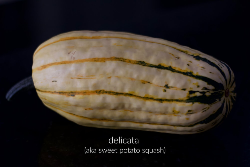 delicata squash tends to have a sweeter flavour