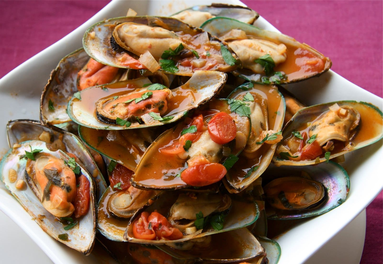 Bloody Caesar Steamed Mussels - The Culinary Chase