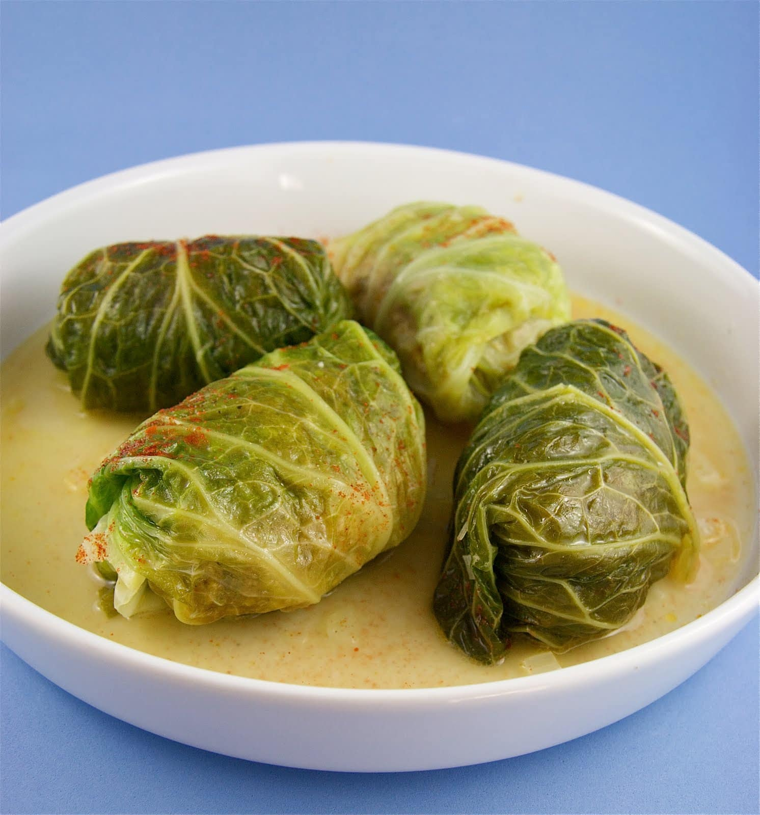 Meat Stuffed Cabbage Rolls The Culinary Chase