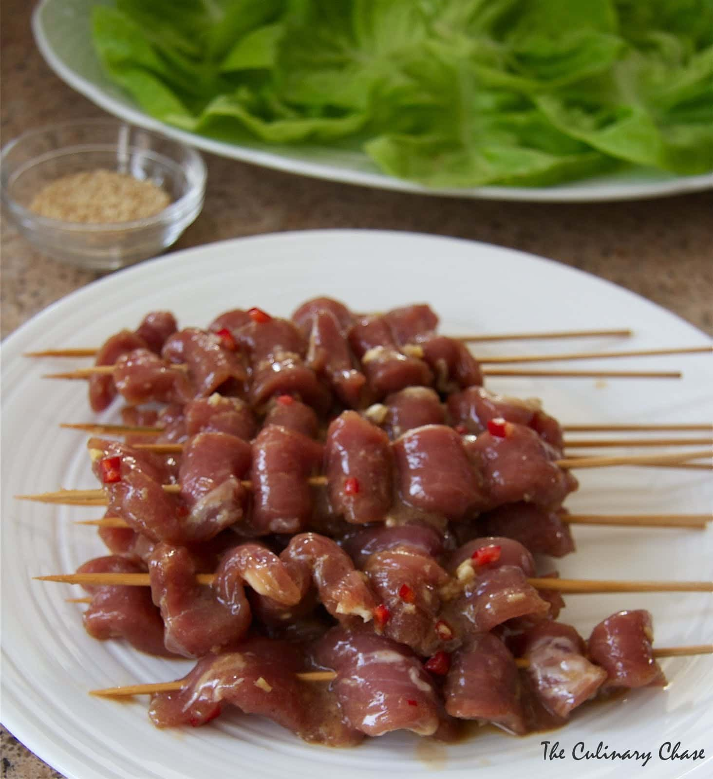 Gordon Ramsay's Vietnamese BBQ Pork Skewers - The Culinary Chase
