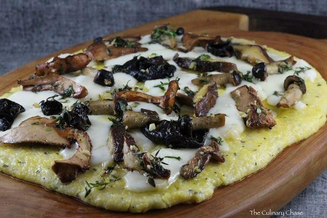 Mushroom and Herb Polenta