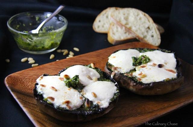 Portobello Mushroom Melts