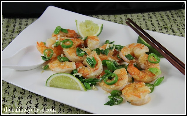 Shrimp with Garlic and Chili
