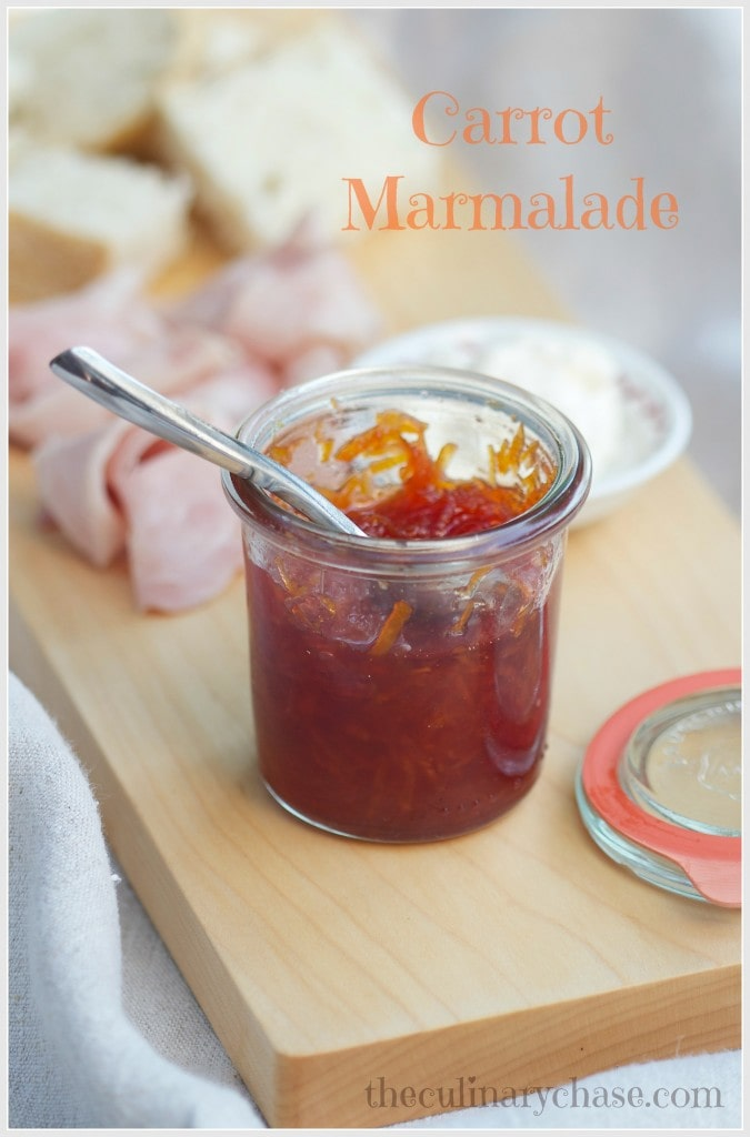 carrot marmalade by The Culinary Chase