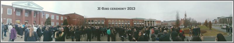 X-Ring ceremony