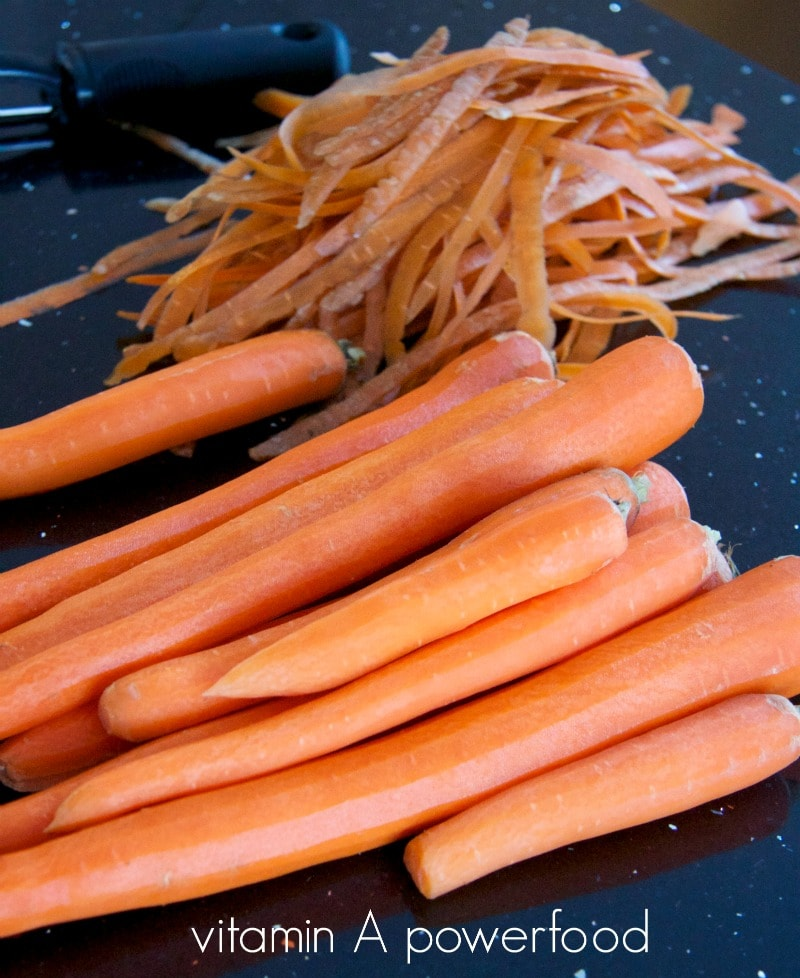 carrots by The Culinary Chase