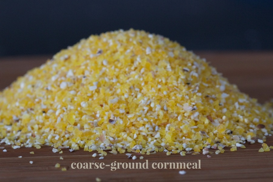 coarse-ground cornmeal by The Culinary Chase