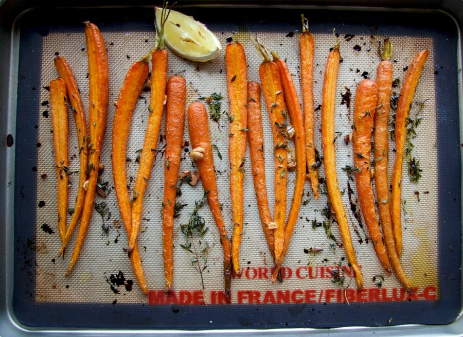 roasted carrots by The Culinary Chase