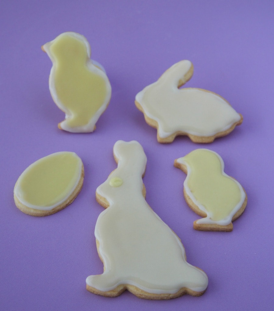Easter cookies by The Culinary Chase
