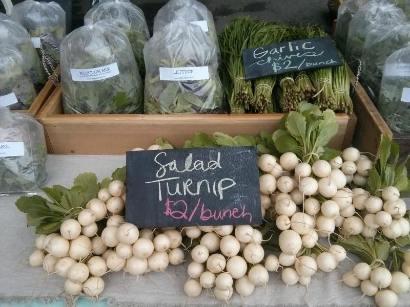 Hakurei Turnips (aka Salad Turnip)