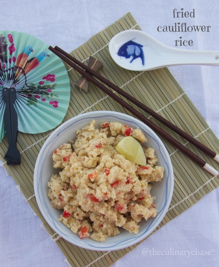 fried cauliflower rice