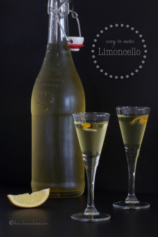 Easy To Make Limoncello