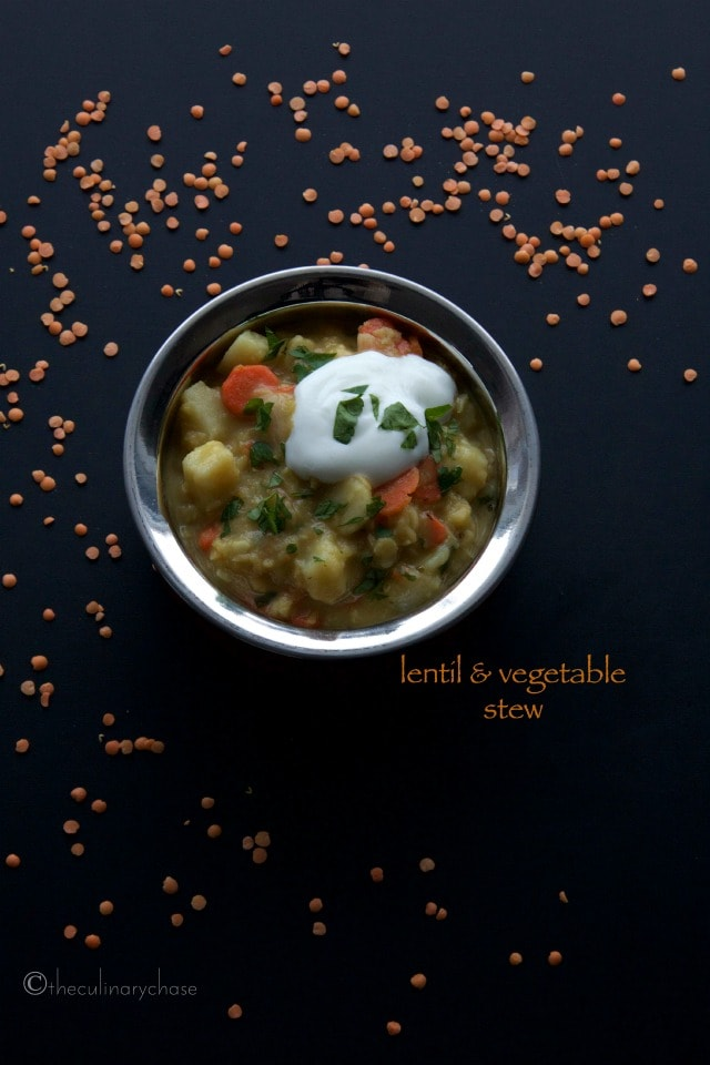Lentil & Vegetable Stew