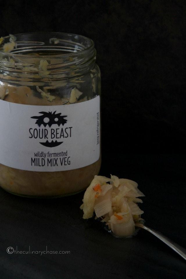 wildly fermented mix veg