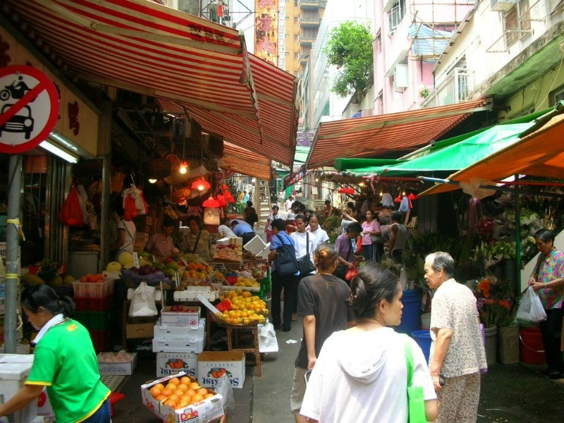 Hong Kong wet market