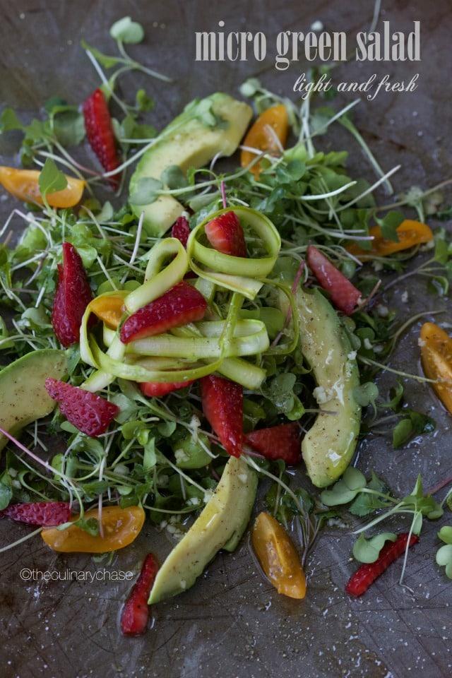 micro green salad