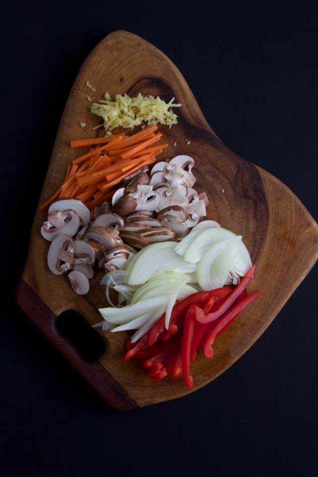 yakiudon ingredients
