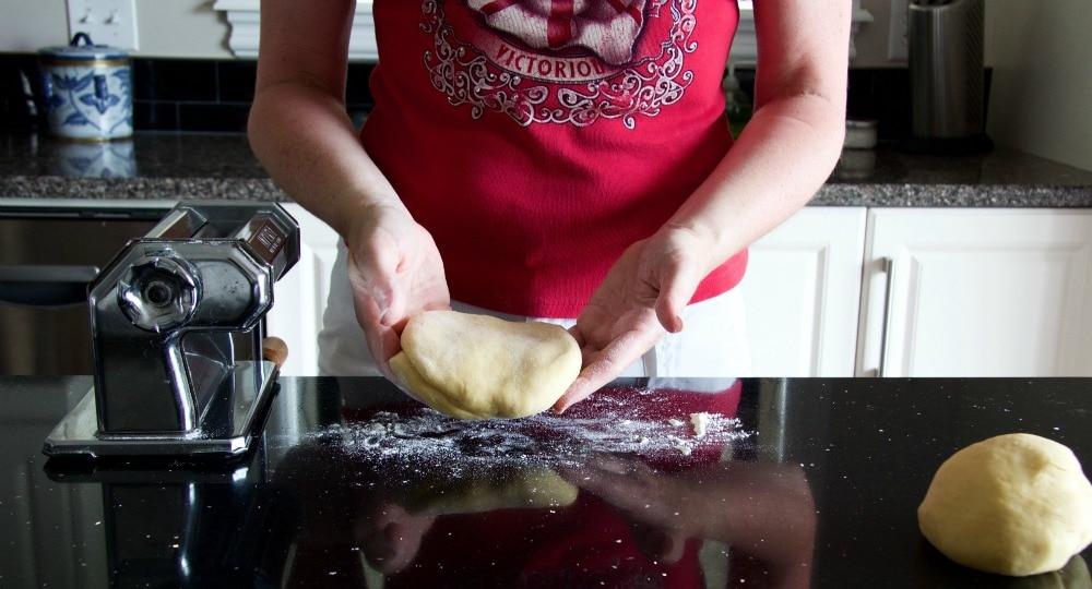 fresh egg pasta dough