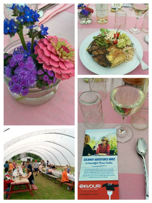 TapRoot table setting Collage