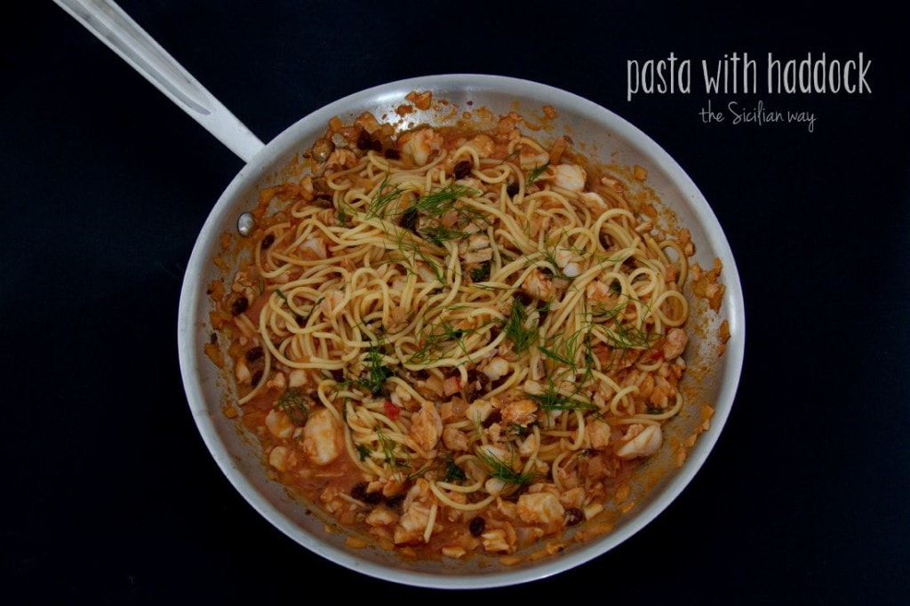 pasta with haddock