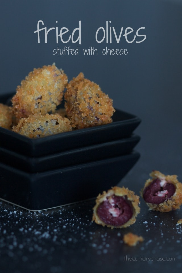 fried olives stuffed with cheese