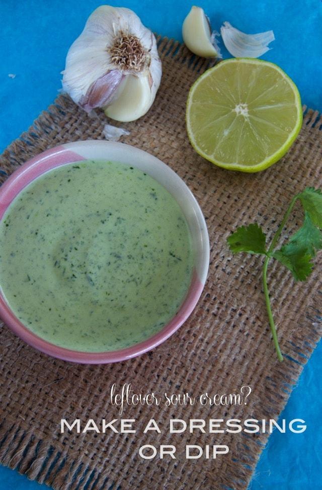 sour cream dressing recipe