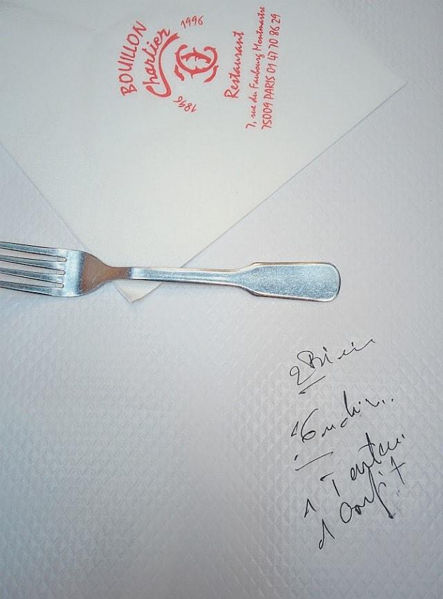 boullion chartier restaurant
