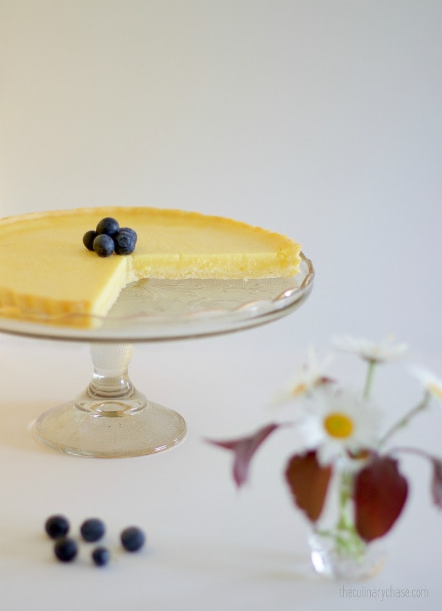 lemon tart- a bit of sunshine on a plate